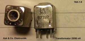 Transformator25-80nH