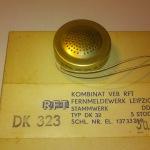 DK 323 dynamisk mikrofon 200 Ohm